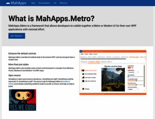 mahapps.com screenshot