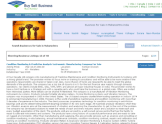 maharashtra.buysellbusinesses.com screenshot