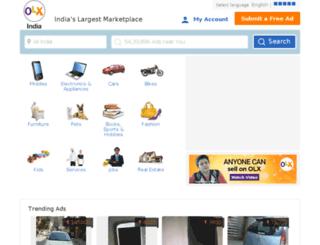 maharashtra.olx.in screenshot