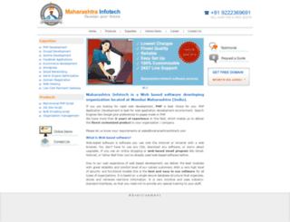 maharashtrainfotech.com screenshot