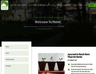 maharshiatreya.com screenshot
