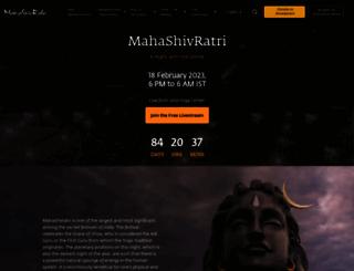 mahashivarathri.org screenshot