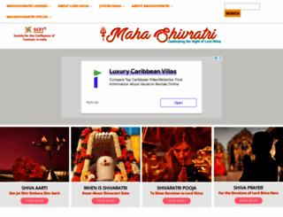 mahashivratri.org screenshot