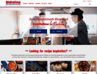 mahatmarice.com screenshot