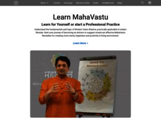 mahavastu.com screenshot