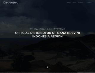 mahera.co.id screenshot