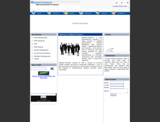 mahesh-infotech.com screenshot