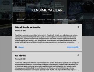 mahfiegilmez.com screenshot