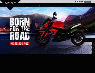 mahindramojo.com screenshot