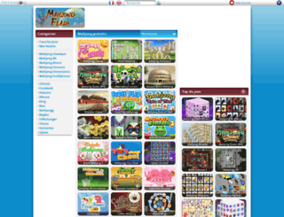 mahjongflash.net screenshot