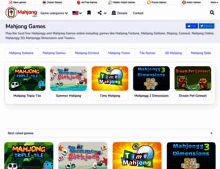 mahjonggames4all.com screenshot