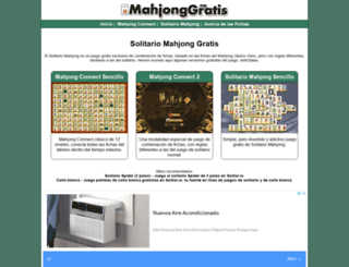 mahjonggratis.org screenshot