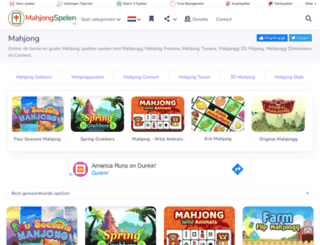 mahjongspelen.nl screenshot