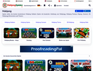 mahjongspielen.de screenshot