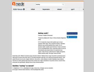mahlep.nedir.com screenshot