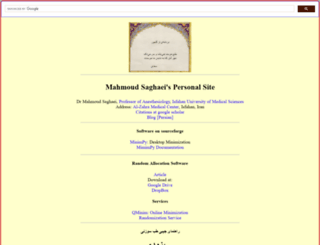 mahmoodsaghaei.tripod.com screenshot