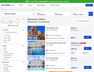mahmutlar.neredekal.com screenshot