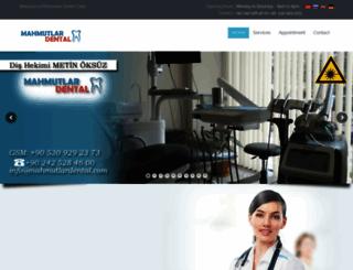 mahmutlardental.com screenshot