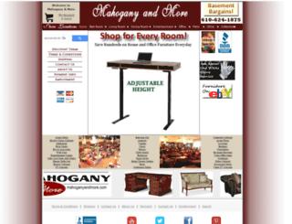mahoganyandmore.com screenshot
