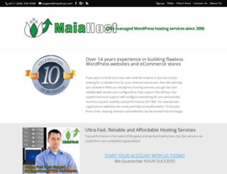 maiahost.com screenshot