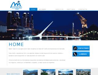 maianviajes.com screenshot