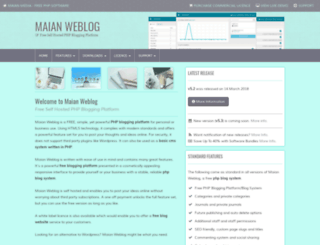 maianweblog.com screenshot