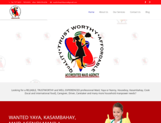 maidinthephilippines.net screenshot