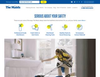 maids.com screenshot