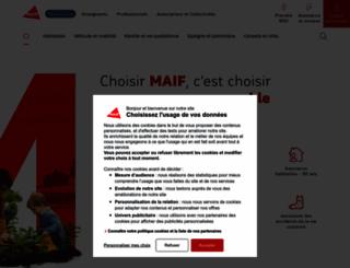 maif.fr screenshot