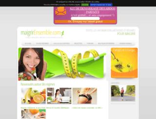 maigrirensemble.com screenshot