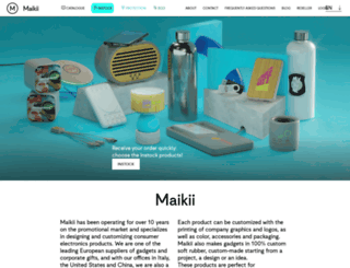 maikii.com screenshot