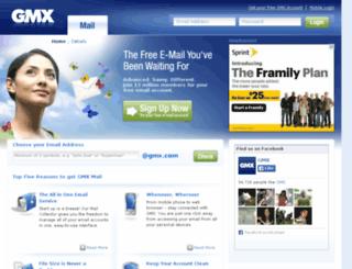 mail-eu.gmx.com screenshot