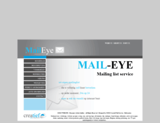 mail-eye.be screenshot