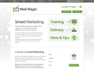 mail-magic.co.uk screenshot