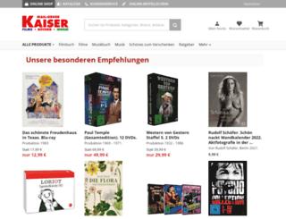 mail-order-kaiser.de screenshot
