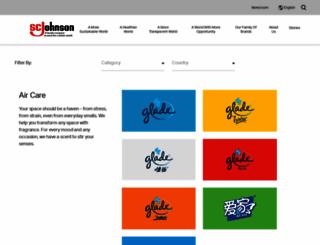 mail-scjohnson.com screenshot
