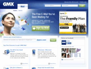 mail-us.gmx.com screenshot