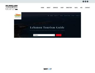 mail.advertiselebanon.com screenshot