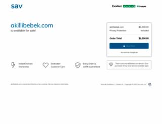 mail.akillibebek.com screenshot