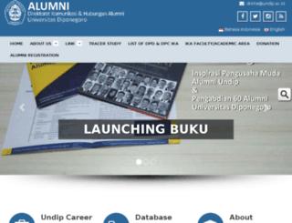 mail.alumni.undip.ac.id screenshot