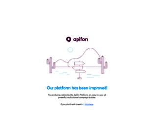 mail.apifon.com screenshot