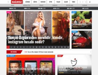 mail.bagimsizgazete.com screenshot