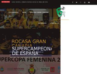 mail.balonmanoremudas.com screenshot