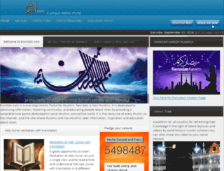 mail.bismillah.com screenshot