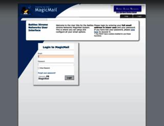mail.bxwireless.net screenshot