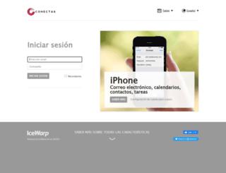 mail.conecta6.com screenshot