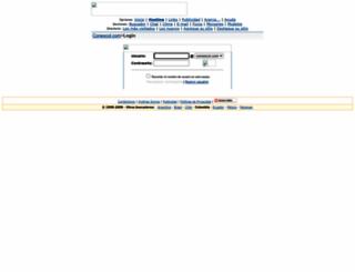 mail.conexcol.com screenshot