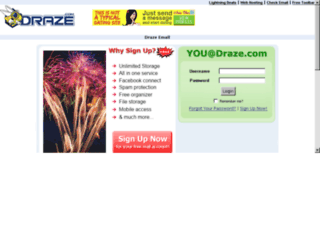 mail.draze.com screenshot