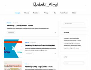 mail.ebubekirakyol.com.tr screenshot
