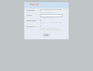 mail.eicgiyim.com screenshot